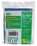 #6: WEB Room Air Conditioner Filter 15x24 Cut to Fit