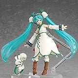 FFWW Hatsune Hatsune Hatsune Miku La Sua Altezza Reale I Giunti Possono Essere Fatti a Mano Statue Personaggi Anime Bambola Telaio da Tavolo Ornamenti PVC Materiale Altezza 15 Cm