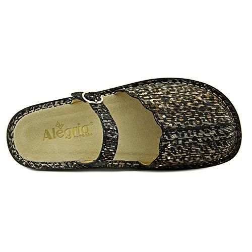 Alegria Tuscany Cuir Sabots Leopard Stripe