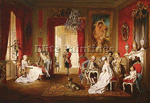 schweninger-jr-carl-the-letter-artiste-tableau-reproduction-huile-toile-peinture-70x100cm-haute-qual