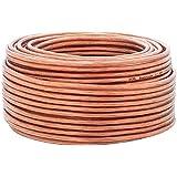 DCSk Câble d'enceinte - haut-parleurs - HiFi en cuivre - cuivre OFC - 2 x 2,5 mm² - 10m