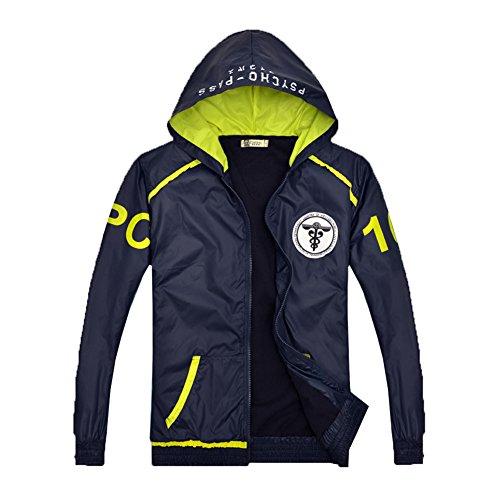 Frühling Herbst Jacke Inspektor Hoodie Blau Sweatshirt Sportbekleidung Mantel Cosplay Kostüm Kleidung Für (Halloween Pass Kostüm)