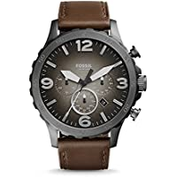 Fossil stopwatch Chronograph Analog Grey Dial Men's Watch - JR1424