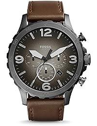 Fossil stopwatch Chronograph Analog Grey Dial Men's Watch - JR1424