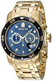 Invicta Chronograph Black Dial Men's Watch - 80064