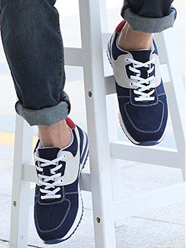 Nuovi Sneaker Da Uomo Comode Scarpe Sportive Da Uomo Casuale Piatta Scarpe Low-top Stringata Running Shoes Scarpe Stringate Basse Uomo Bianca