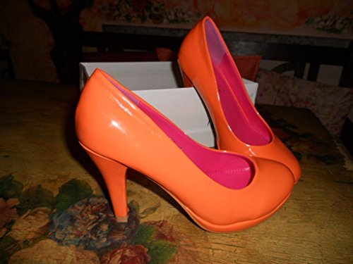 Scarpe Donna numero 36 Arancio Orange Nuove New