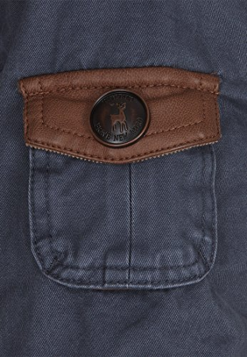 Naketano Walk The Line Jacket Brownie Dark Blue