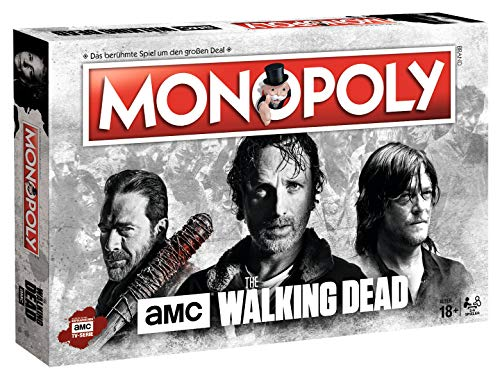 Winning Moves Monopoly The Walking Dead AMC -