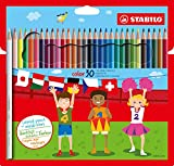 Buntstift - STABILO color - 30er Pack - mit 30 verschiedenen Farben inklusive 4 Neonfarben Bild