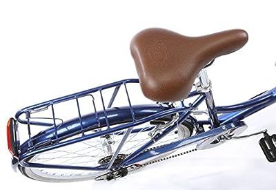 Kingston Dalston, Ladies Classic Bicycle, 6 Speed, 26 Inch Wheel, Metallic Blue