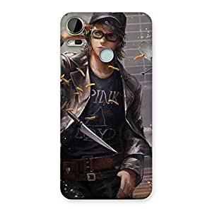 Neo World Knife Man Back Case Cover for HTC Desire 10 Pro