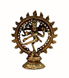 """Stonkraft 5.5"""" Brass Natraj Statue Idol Sculpture Shiva - Nataraj The Lord Of"""