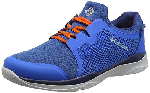 Columbia ATS Trail LF92 Outdry, Zapatillas sin Cordones para Hombre, Azul (Hyper Blue, Heatwave), 43 EU