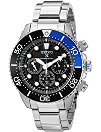 SEIKO SEIKO SOLAR DIVERS SSC017 GENTS STAINLESS STEEL CASE CHRONOGRAPH WATCH