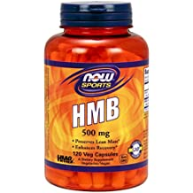 Now Foods HMB 500 Mg Capsules - 120 Veg Capsules