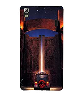 EPICCASE Jurassick world Mobile Back Case Cover For Lenovo K3 Note (Designer Case)