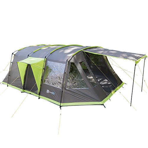 Skandika Nordland 6familia túnel tienda de campaña Camping