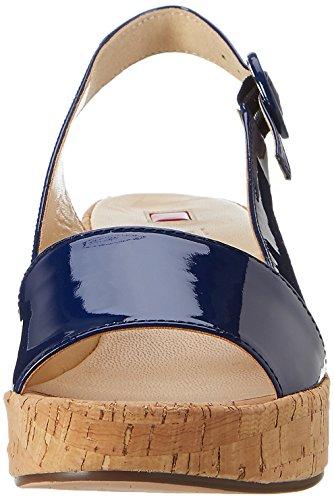 Högl 3 10 3205 3200, Escarpins Compensé Femme Bleu (Blue3200)