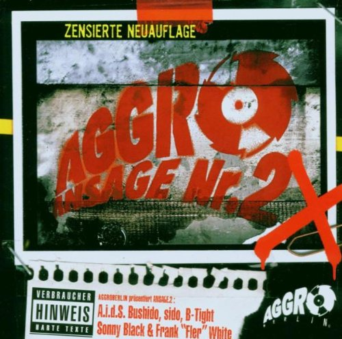 Various Artists: Aggro Ansage Nr.2 X (Audio CD)