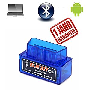 obd2 obd ii bluetooth diagnoseger t adapter scanner elm327. Black Bedroom Furniture Sets. Home Design Ideas