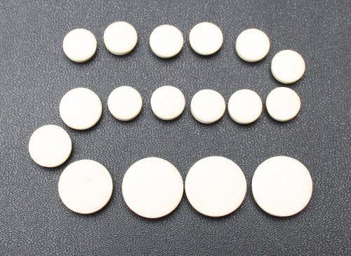 Cherrystone 4260180889369 Polster Set für Klarinette 17 Lammdarm Polster Reparaturset