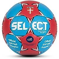 Select Handball Match Soft - Balón de balonmano suave, color gris y rojo azul azul/rojo Talla:2