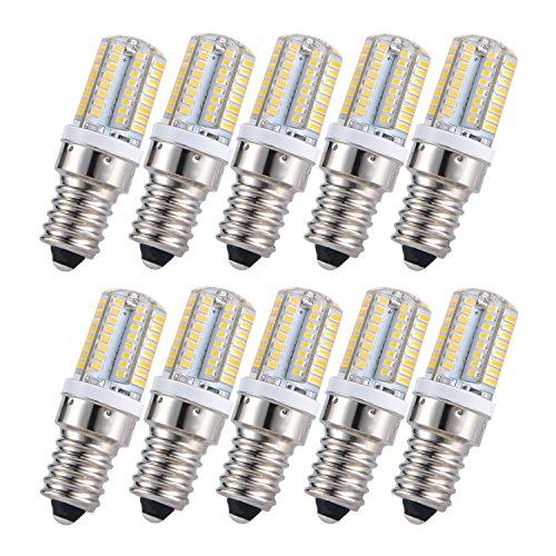 Liqoo® 10er 3W E14 LED Lampe Birne 220 Lumen Ersetzt 20W Abstrahlwinkel 360º Wamrweiß 3000K nicht dimmbar AC220…