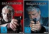 Salamander - Die komplette Staffel 1 + 2 im Set - Deutsche Originalware [7 DVDs]