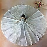 WayIn® Moda hechos a mano de la boda del partido Ropa, vestido vestido de traje de la flor de la muñeca de Barbie del océano