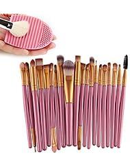 Bonice 20 Set Pinceaux Maquillage Professionnel Eyebrow Shadow Blush Fond De Teint Anti-Cerne Ensembles Outils...