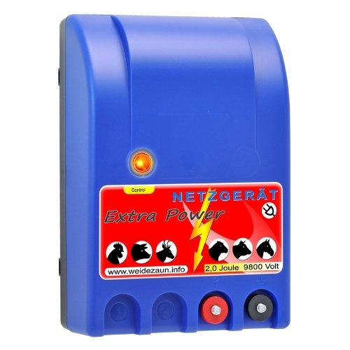*Weidezaungerät extra Power – das STARKE Elektrozaungerät – Allroundgerät –*
