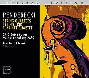 String Quartets String Trio Clarinet Quartet