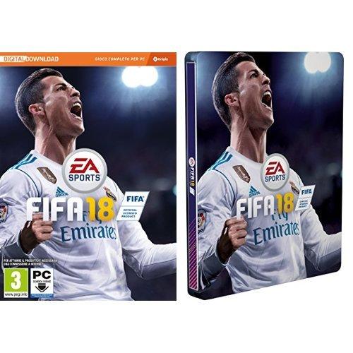 Foto FIFA 18 + Steelbook Esclusiva Amazon - PC (Codice digitale nella confezione)