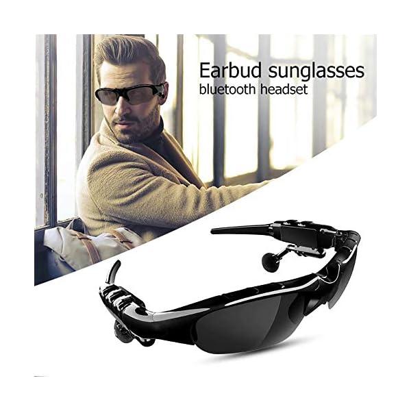 Bluetooth para Auriculares, Lentes De Conducción Lente De Los Anteojos De Sol De Ciclo De La Visión para iPhone 7… 2