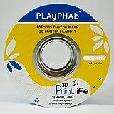 3D Printlife PLAyPHAb 1,75mm Weiß PLA/PHA Mischung 3D-Drucker Filament, Maßhaltigkeit <+/- 0,05 mm, Weiß - gut und günstig
