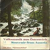 """Volksmusik Aus Ã-sterreich â€"""" Souvenir From Austria"""