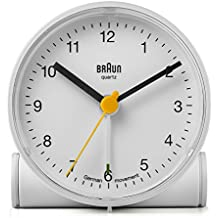 Braun Crescendo BNC001WH - Reloj despertador, blanco
