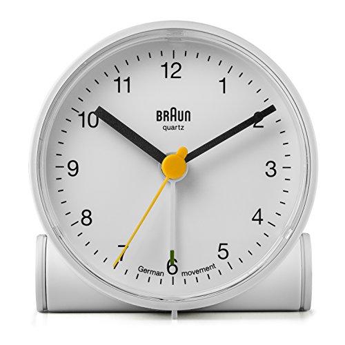 Braun Crescendo BNC001WH - Reloj despertador, blan