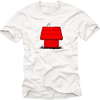 Maglietta Snoop Dog - T-Shirt con Stampa Cane Swag Hipster