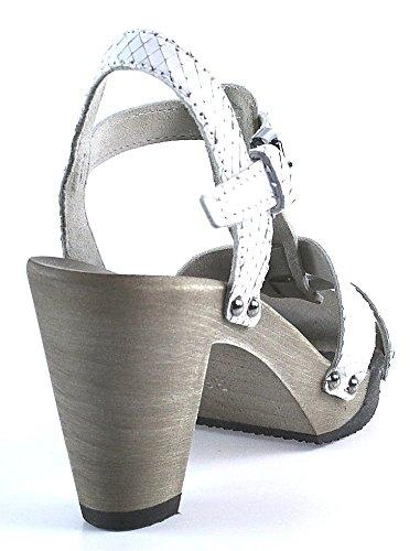 Softclox | Sandalette | Fabienne | Lavato Snake | weiß Weiß