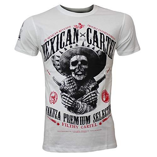 Yakuza Premium Herren T-Shirt 2608 weiß, XL
