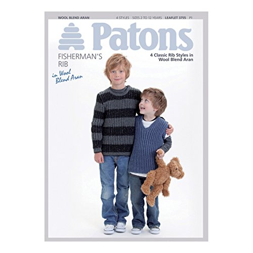 patons| Muster Parabel: Wolle Blend: Kinder | pbn3755 (Patons Wolle Muster)