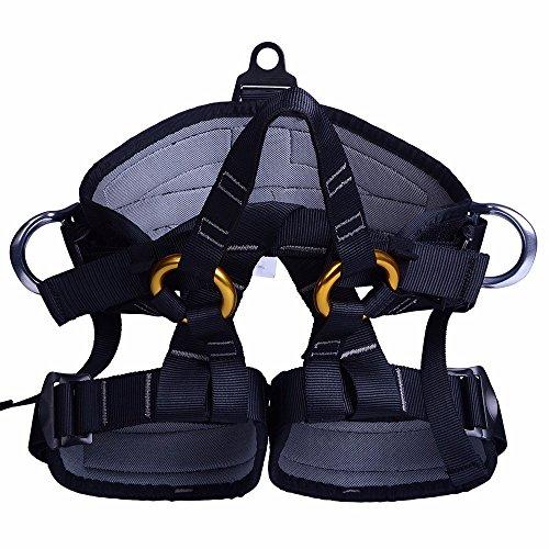 CAMTOA Outdoor Multiuso Imbracatura da Scalata, Climbing Harness, Cinture di Sicurezza per l