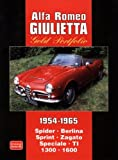 Alfa Romeo Giulietta Gold Portfolio 1954-1965 (Brooklands Books Road Test Series): Spider Berlina Sprint Zagato Speciale TI 1300 1600 (Brooklands Road Test Books)