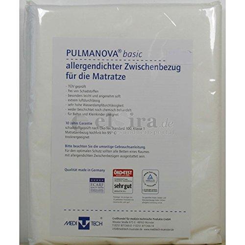 Pulmanova Basic Encasing allergendichter Matratzenbezug 160x200x20 cm