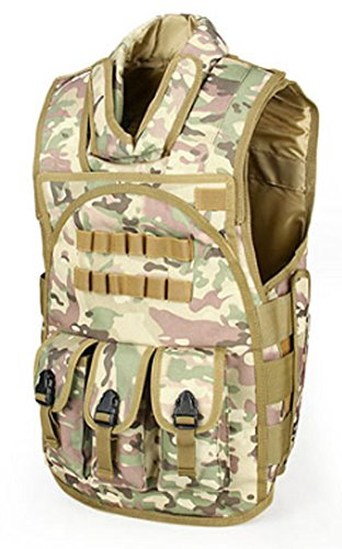 SaySure - Tactical Airsoft 600D Oxford Fabric Vest Outdoor Vest