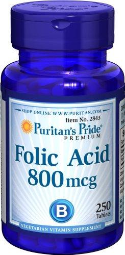 Folic acid 800 mcg 250 Comprimes