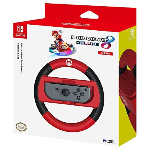 HORI – Volant Deluxe Mario Kart 8 pour Nintendo Switch – Version Mario