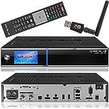 Gigablue UHD Quad 4k Receiver mit 2 x DVB-S2 FBC und 1 x DVB-C/ T2 (H.265) Tuner SAT-Receiver inkl. Babotech® Wlan Stick mit 1TB Festplatte